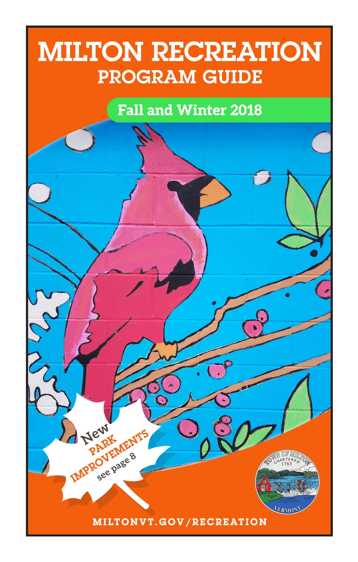 2018 Fall & Winter Program Guide Cover