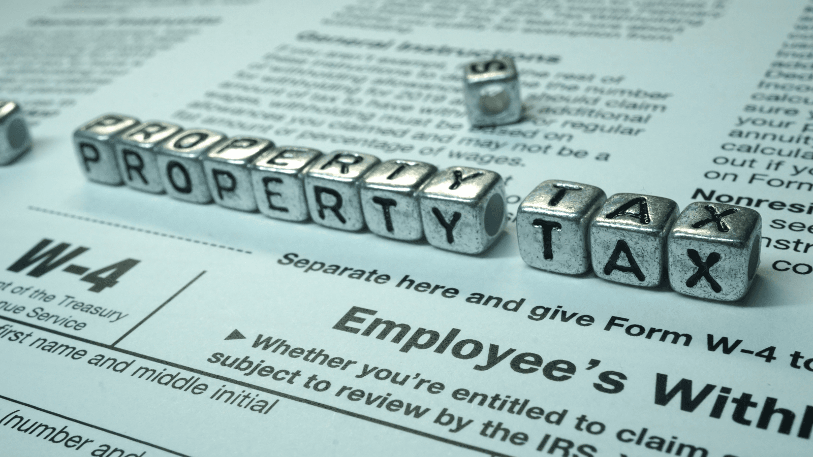 Property Taxes 16 x 9